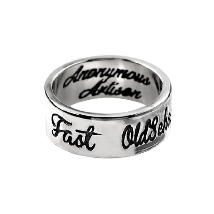 Old School Never Die Ring