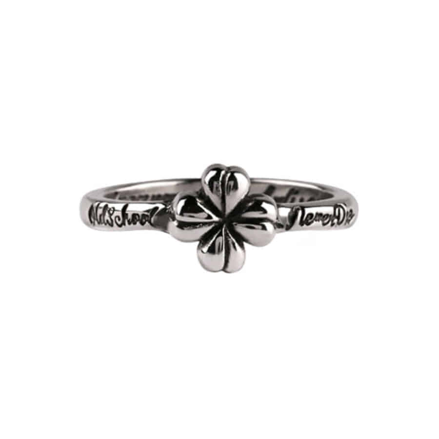 4leaf Clover School Ring