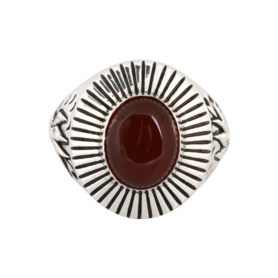 Swallow Egg ring - Red