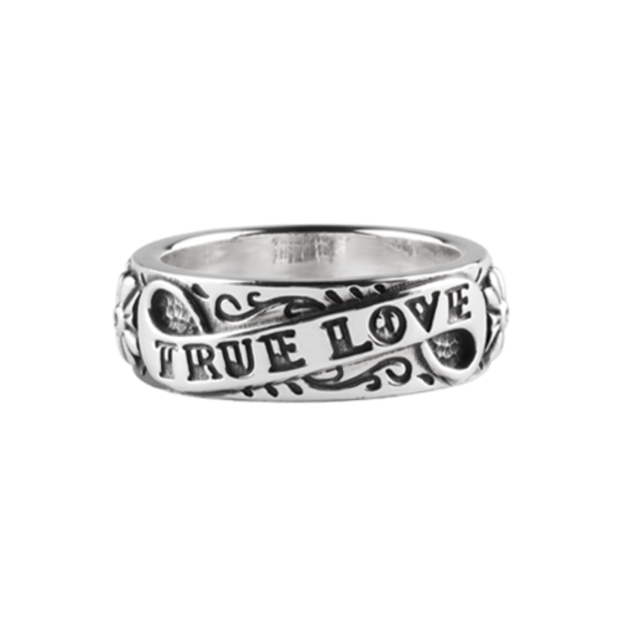 Ture Love Roolling Paper Ring