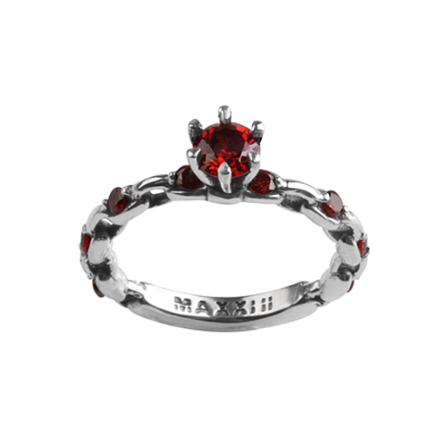 [MAXXIXI] Chain wedding ring v.2 - red