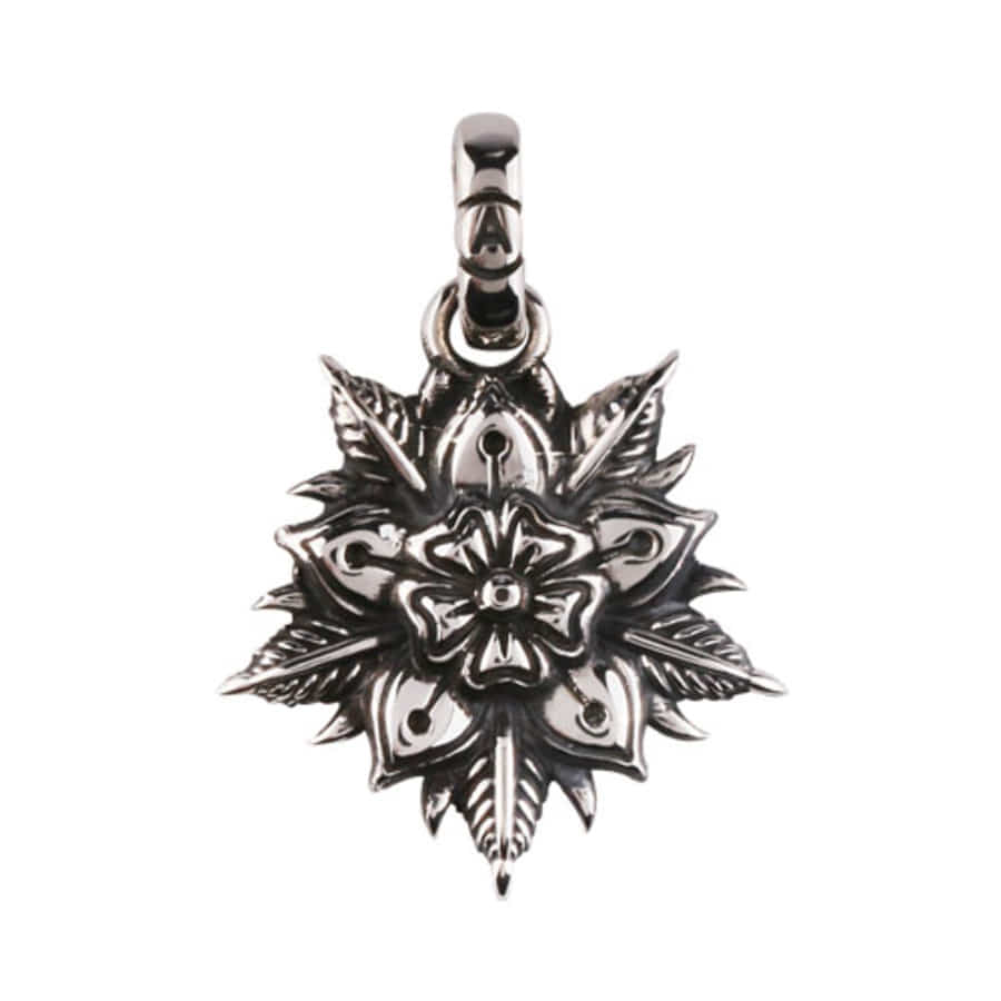 Oldschool Flower Pendant