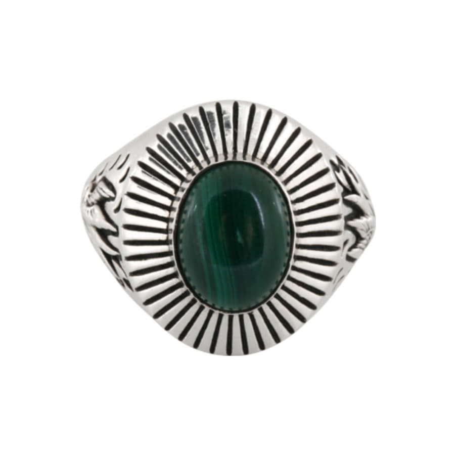 Swallow Egg ring - Green