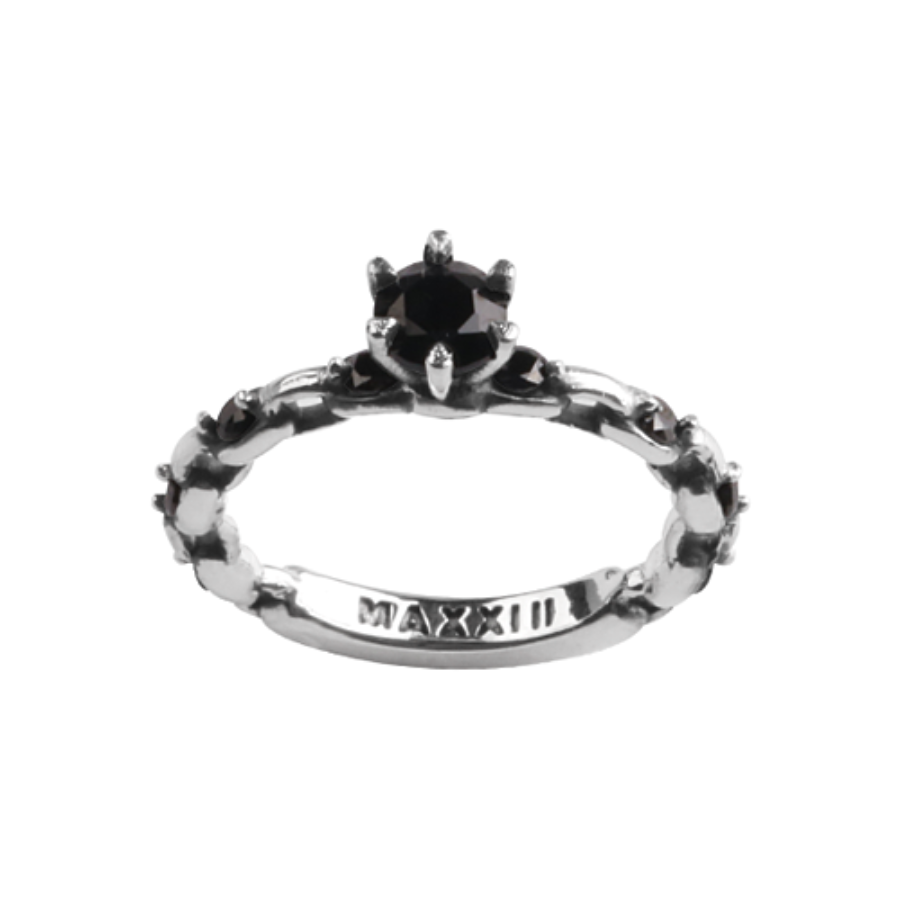 [MAXXIXI] Chain wedding ring v.2 - black